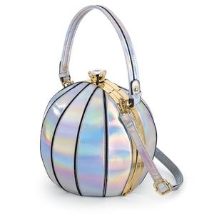 Holographic Ball Bag Frame Satchel